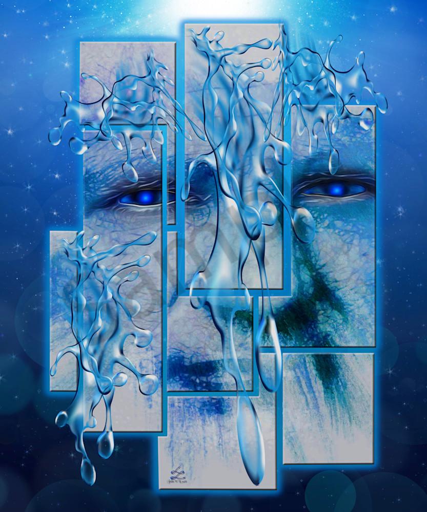 """Windows Of Heaven"" by Virginia Digital Artist John W. Lewis   Prophetics Gallery"