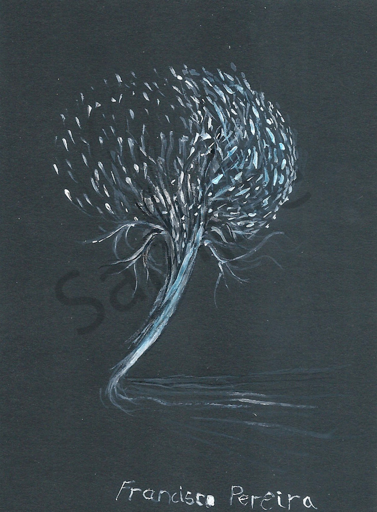 """""""Dandelion Tree"""" by South African Artist Frank Pereira 