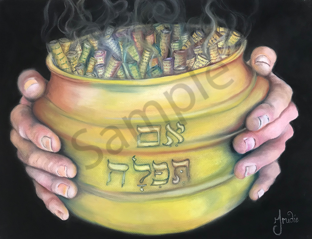 """Mothers Prayers"" by South African Artist Trudie Oosthuizen 