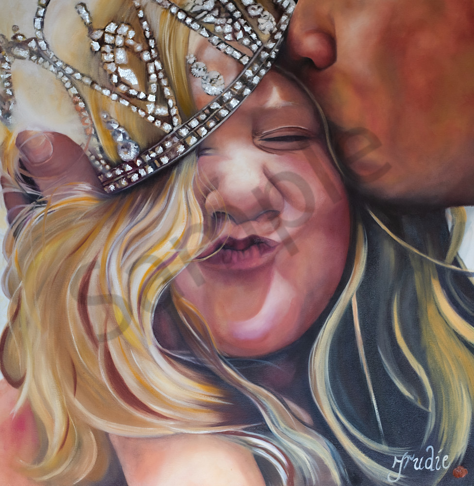 """""""The Father's Love"""" by South African Artist Trudie Oosthuizen 