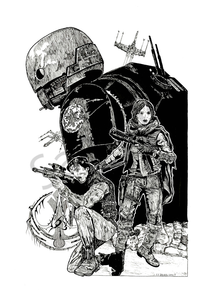 Illustration of Star Wars Rogue One