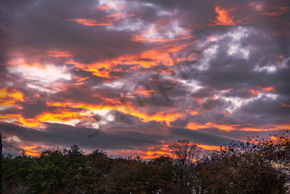 Majestic Atlanta Sunset | Susan J | Fine-art photography