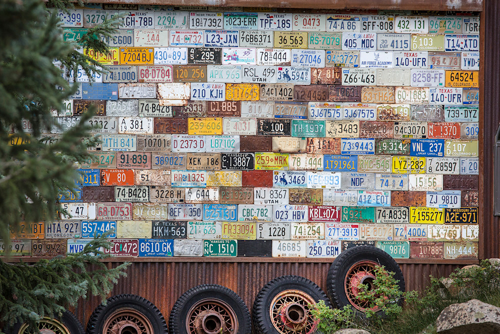 8469 License Plates  Art | Cunningham Gallery