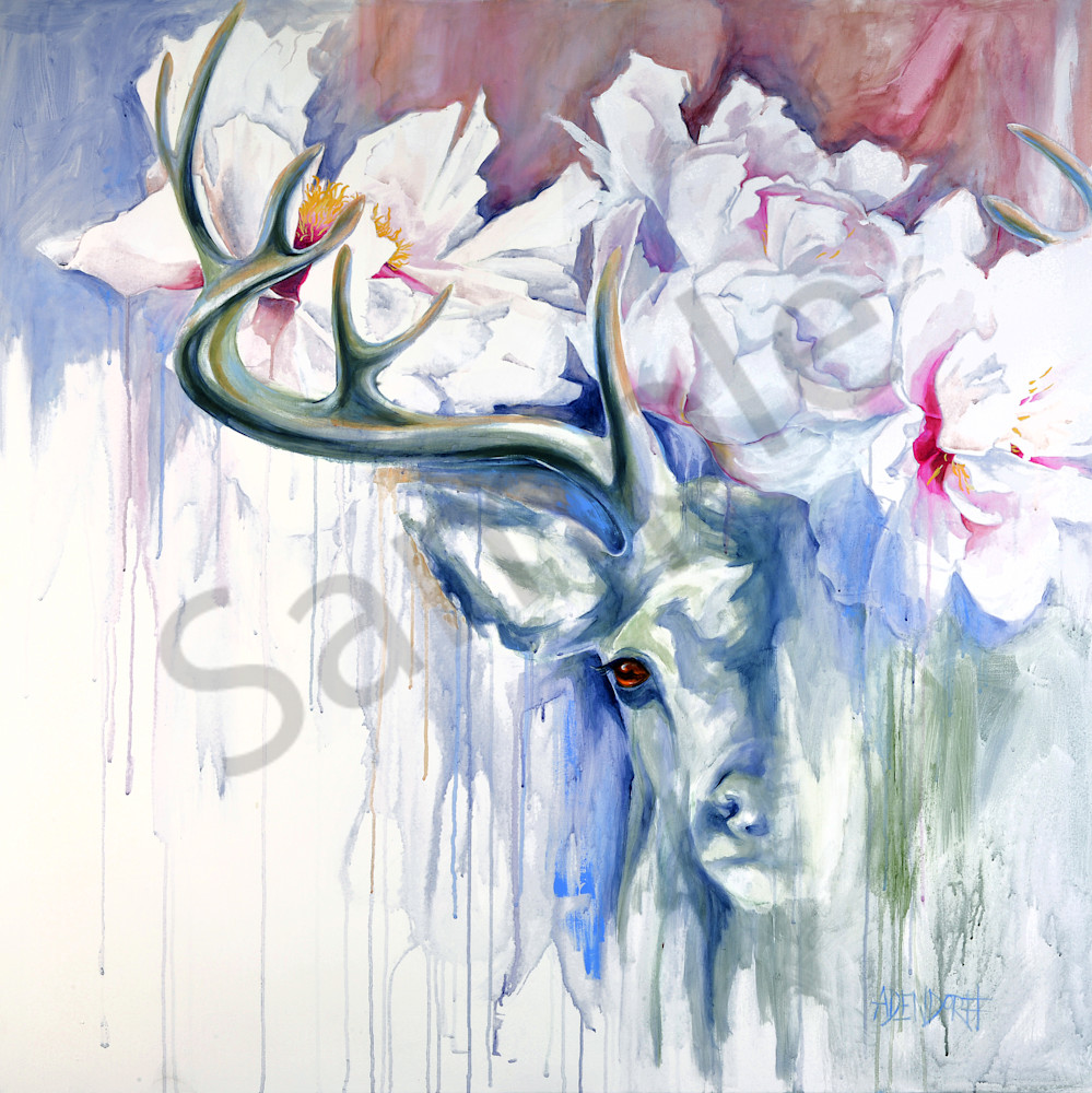 """Crowned Hart"" by Connecticut Artist Mandy Adendorff | Prophetics Gallery"