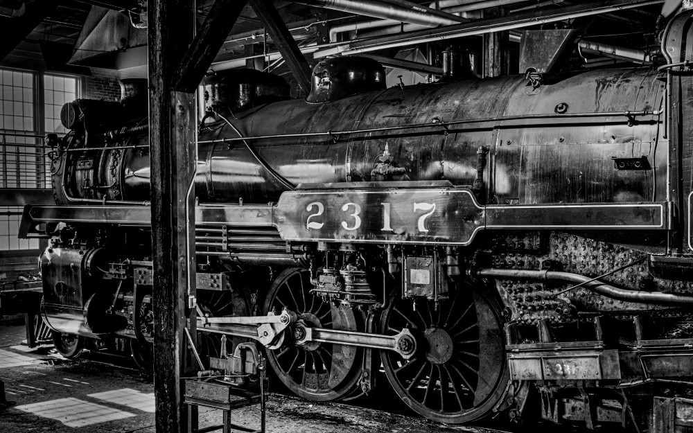 Engine 2317 In For Overhaul