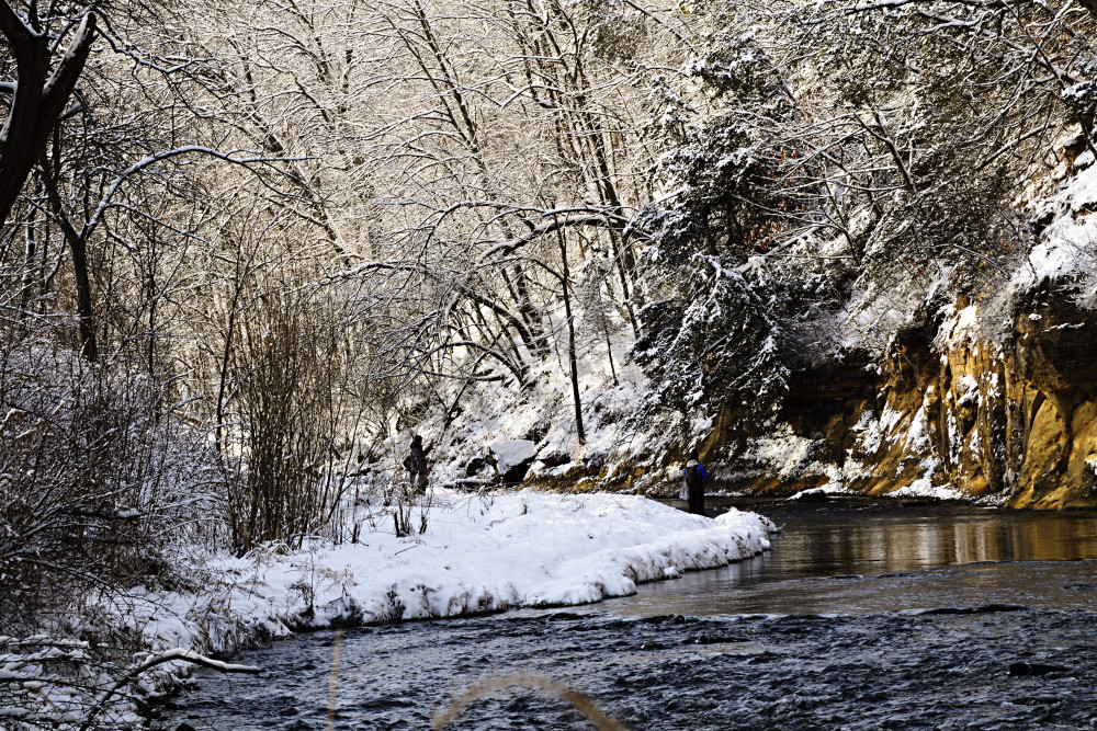 River In Winter Photography Art | LHR Images