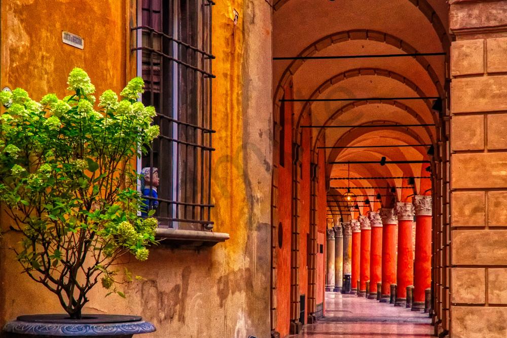 Bologna Hallway Photography Art | FocusPro Services, Inc.