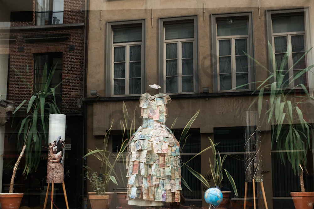 Window Reflections, Ghent Belgium  Photography Art | Kim Bova Photography