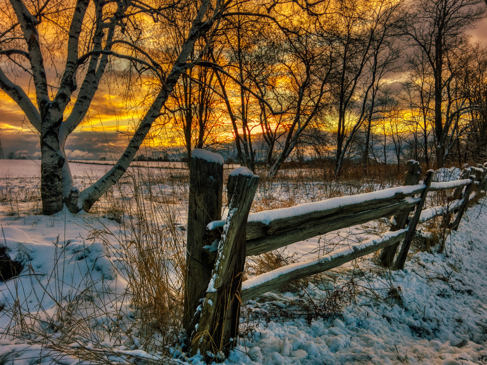 Winter Sunrise Photography Art | FocusPro Services, Inc.