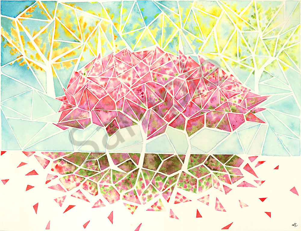 """Fresh Fall"" fine art print by Matthew Campbell."