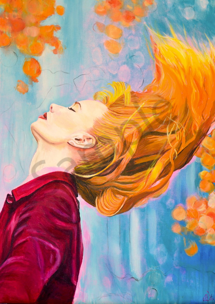 """New Beginning"" by German Artist Anke Wiemer | Prophetics Gallery"