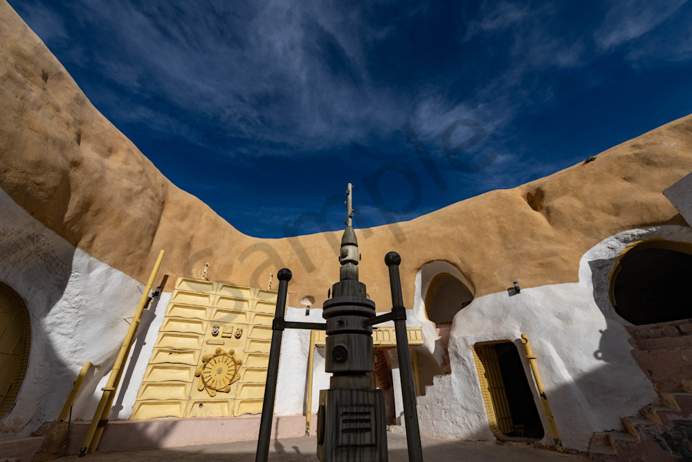 Star Wars troglodyte house