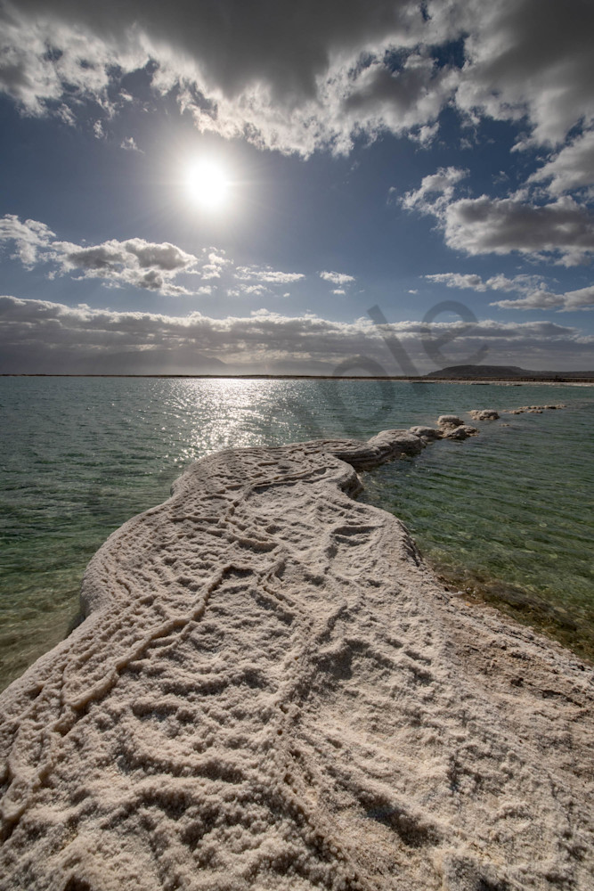 Dead Sea sunrise four