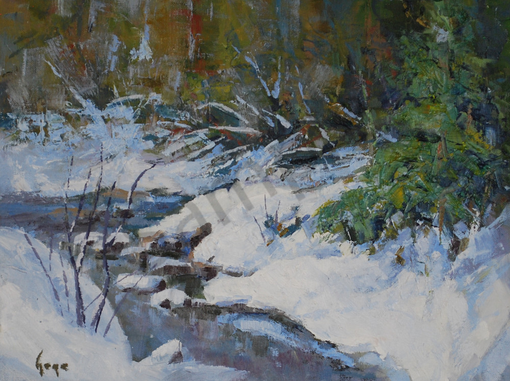 Meandering Creek Art | Gary Gore