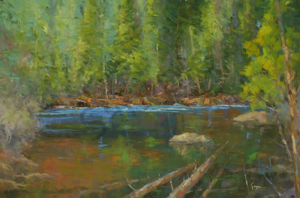 Above Adams Falls Art | Gary Gore
