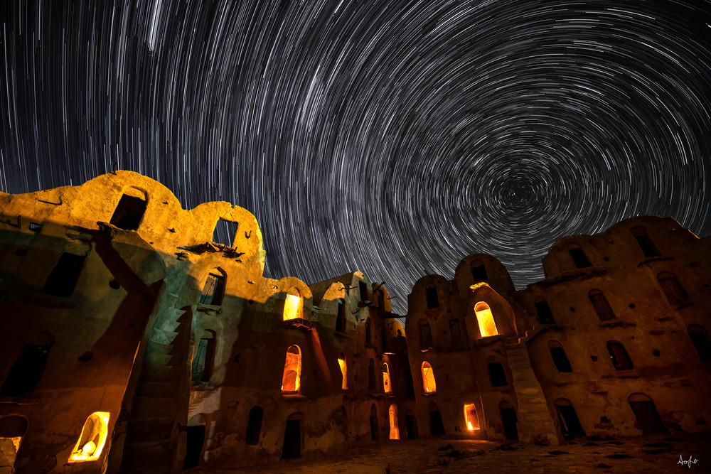 Berber Ksuar star trail
