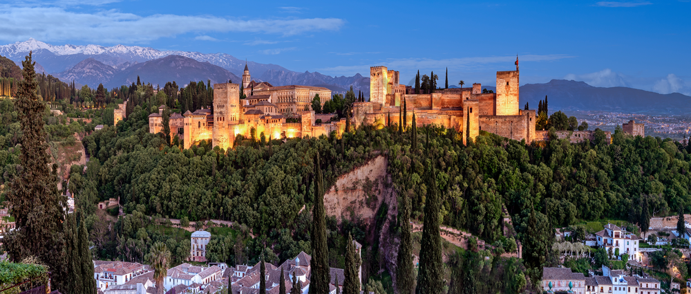 Art Print Alhambra Granada Spain Ancient Palace