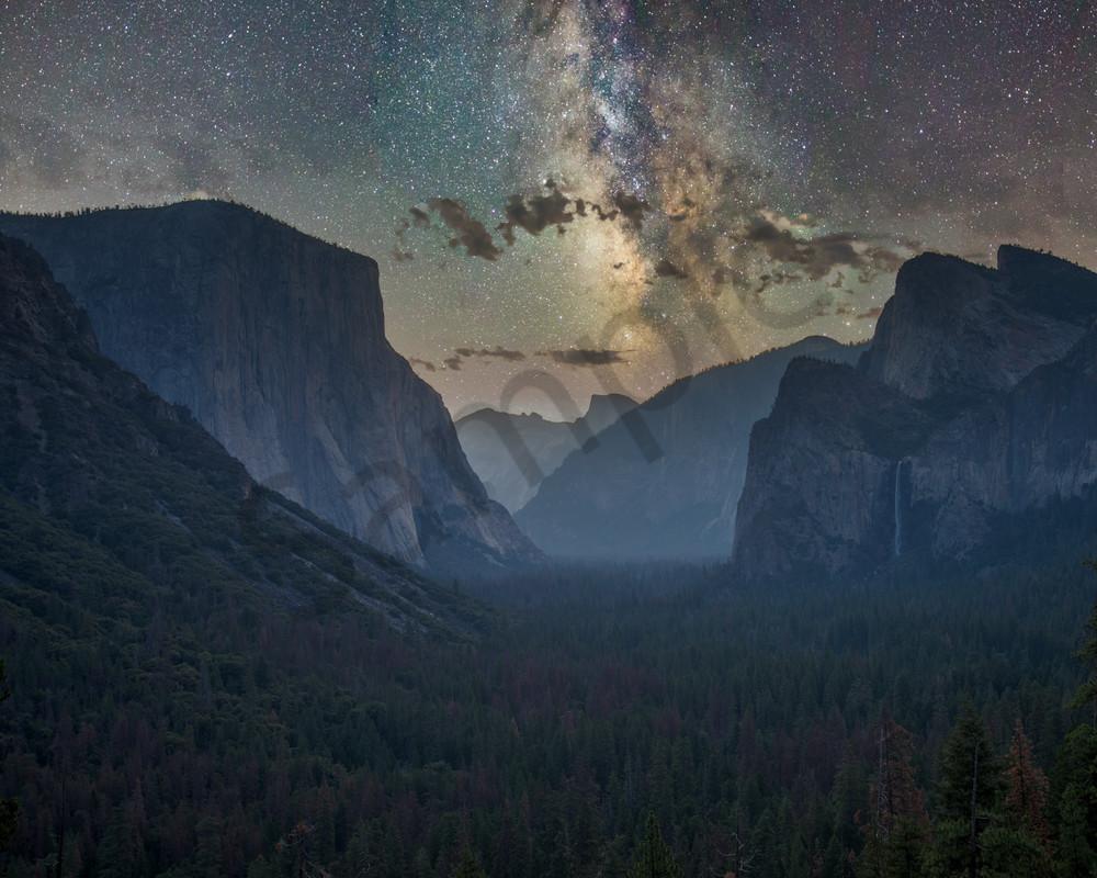 Starry Night Over Yosemite