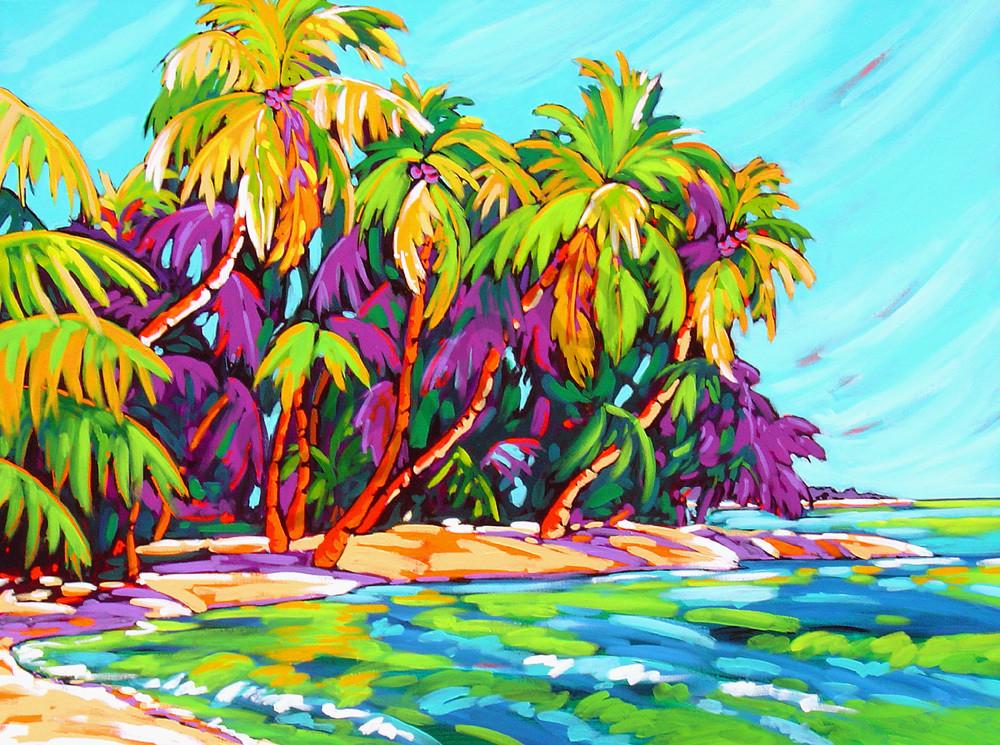 Mexico Beach in Blue