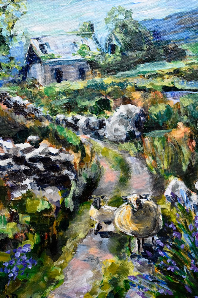 """""""Staying On The Path"""" by Pennsylvania Artists April Ryan   Prophetics Gallery"""