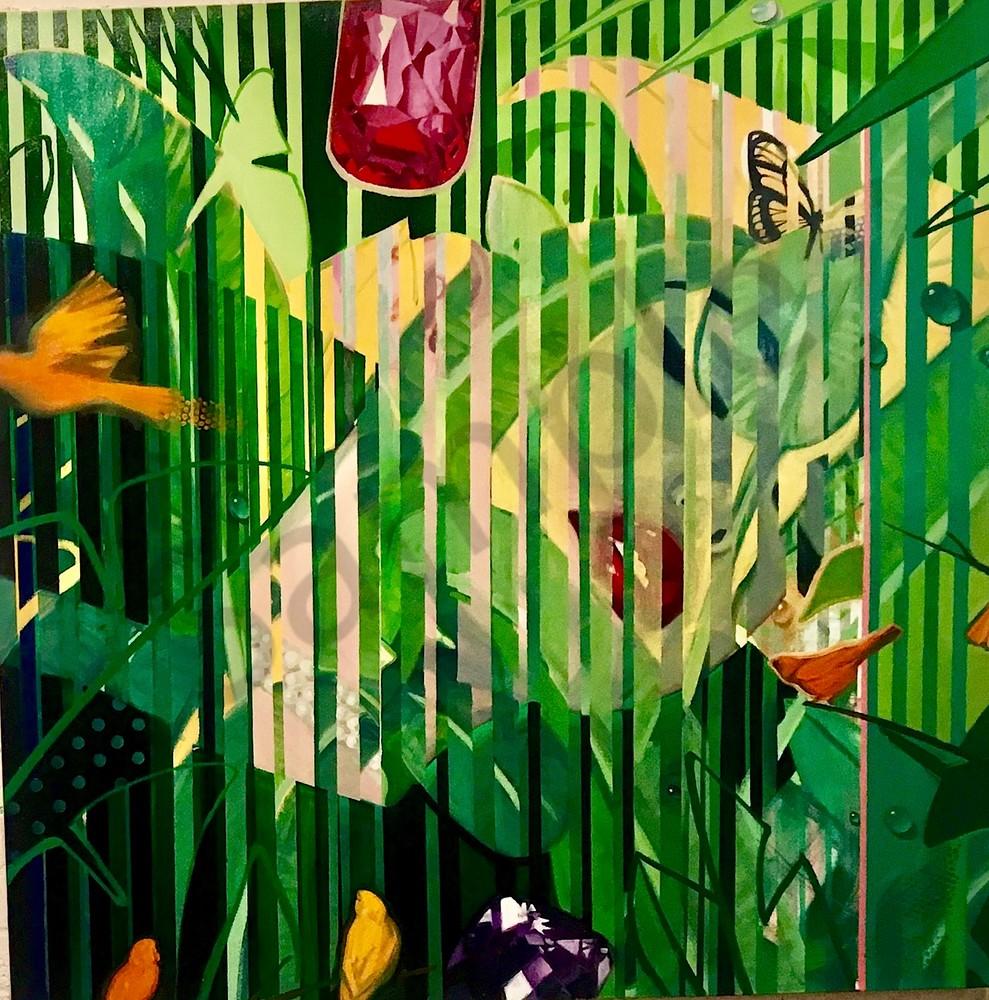 In The Forest 65x65 Art | sheldongreenberg
