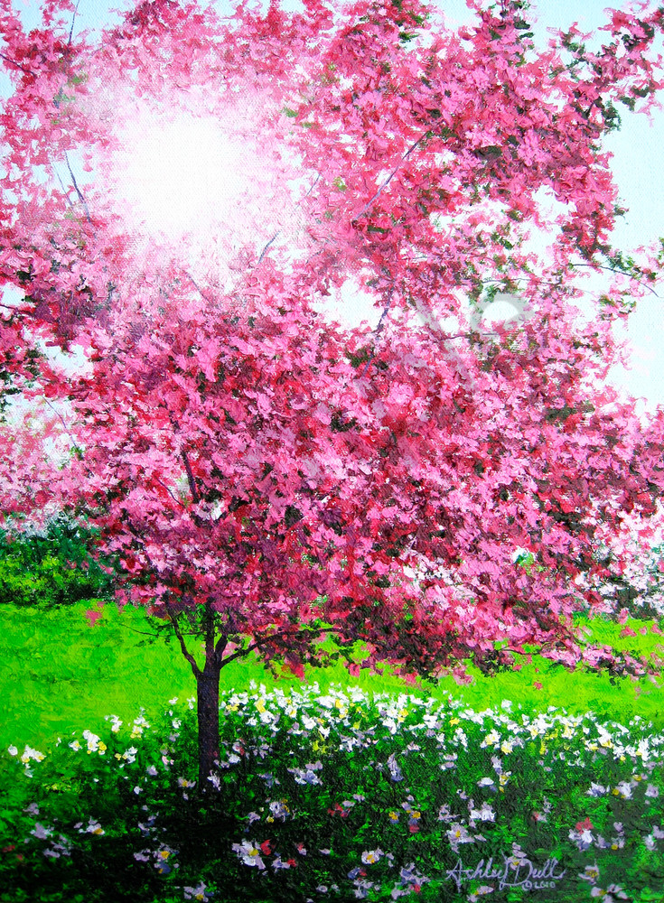 Springtime Spirit Art | Art by Ashley Dull