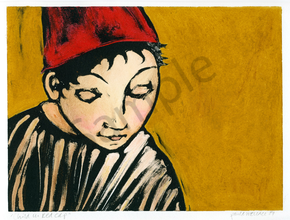 Child in a Red Cap