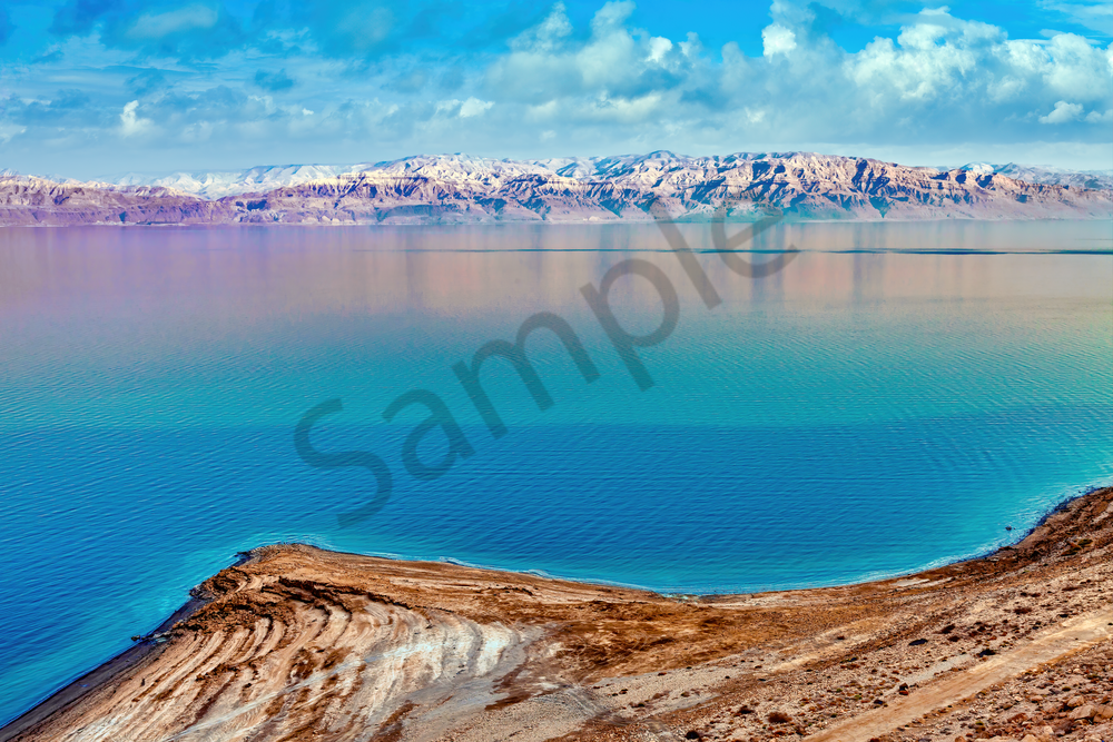 Art Print Dead Sea Israel Sea of Salt