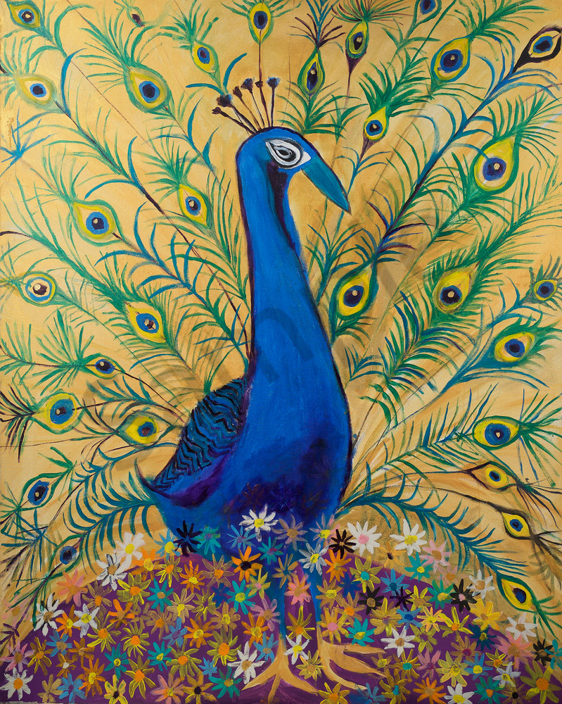 Blossoming Peacock Art | DuggArt