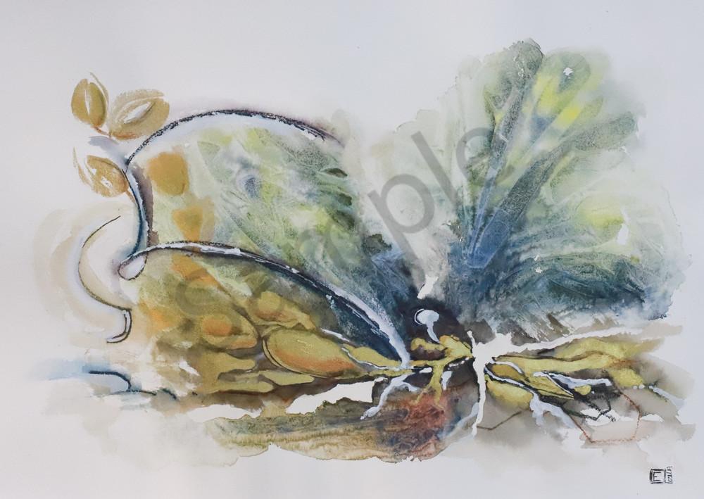 """""""Leaves Of Medicine"""" by South African Artist Elizma Van Niekerk   Prophetics Gallery"""