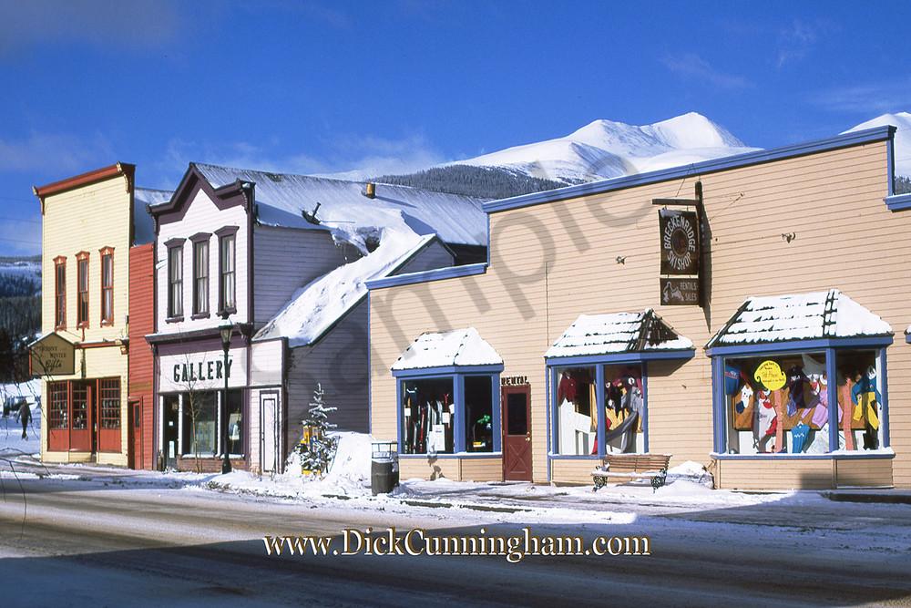 Sk Winter  Gallery  Breck Ski Shop Art   Cunningham Gallery