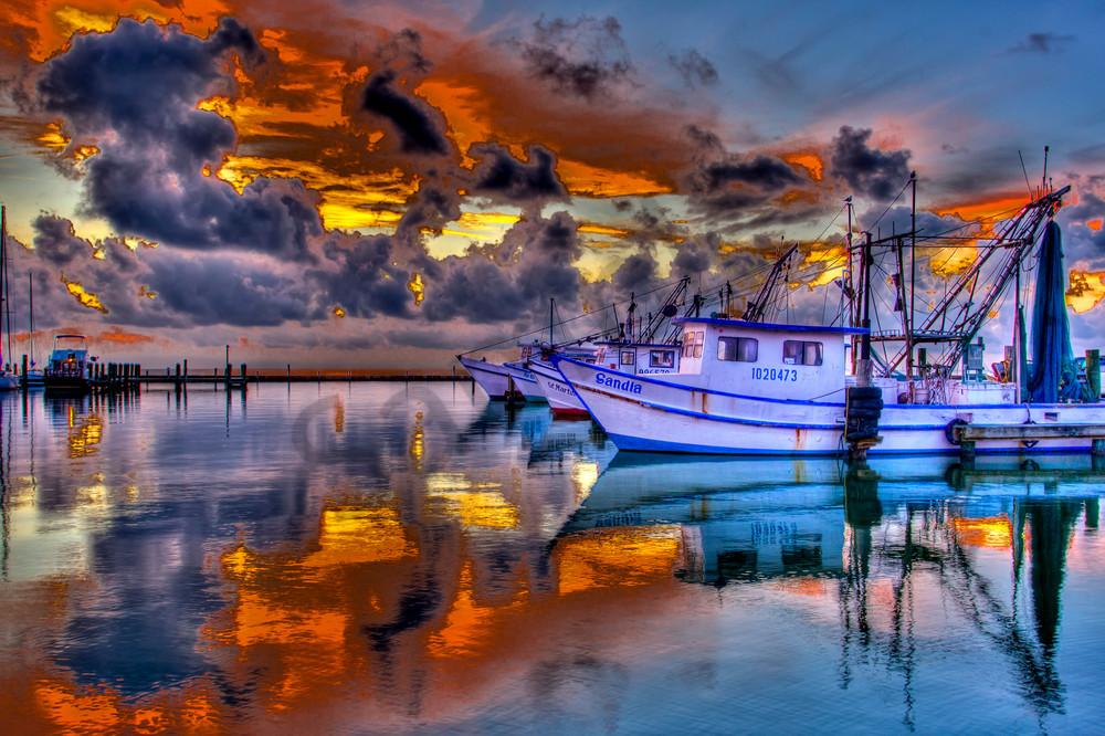 Fulton Harbor Drama Photography Art | John Martell Photography
