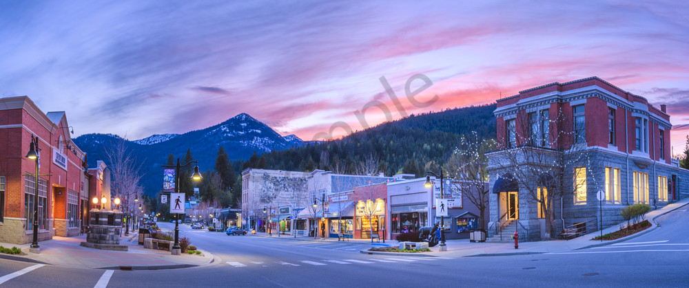 Spring Surprise Pano Photography Art | Kokanee Camera and Nelson Fine Art Printing