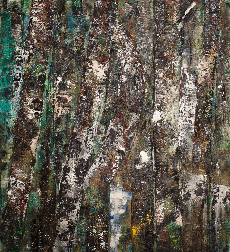 "African Trees II, 66x60"""