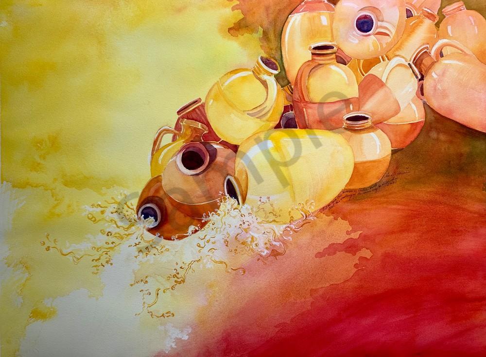 """Jars Of Clay"" by Texas Artist Sara Joseph | Prophetics Gallery"
