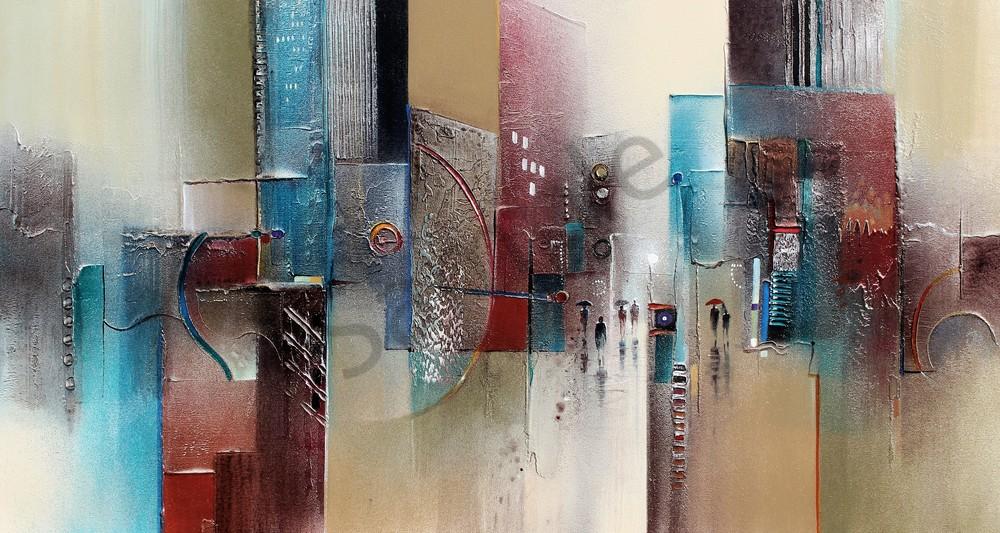 Cityscape 2  Art | John Blowers Art