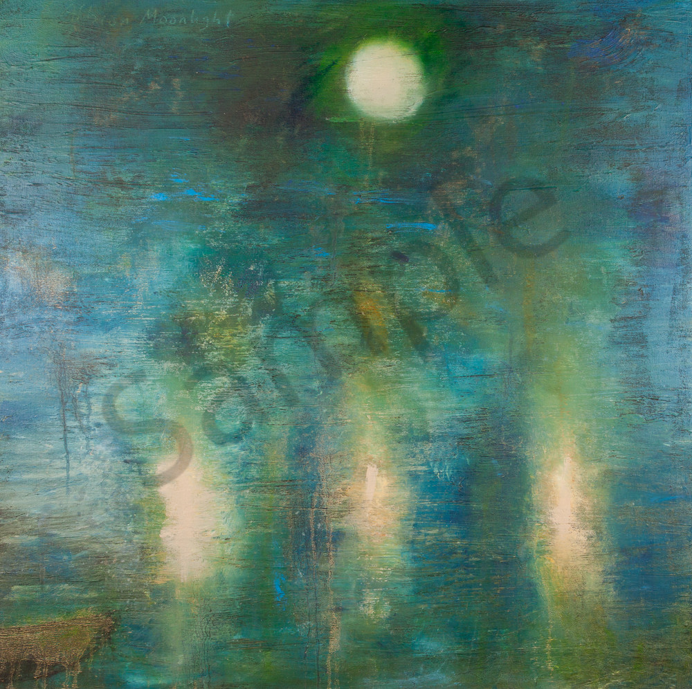 "Harbor Lights, 36x36"""