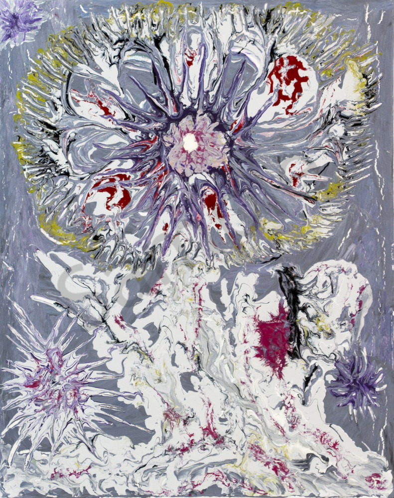 Ice Flower  Art   SG Build & Trade Kft
