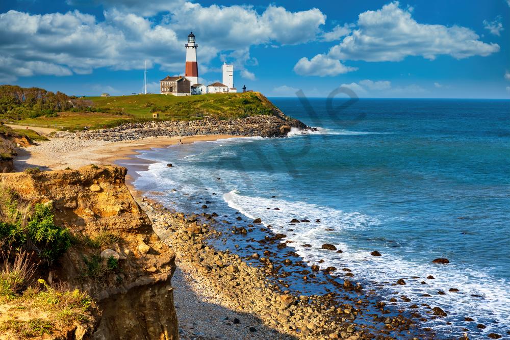 Art Print Long Island New York Montauk Lighthouse