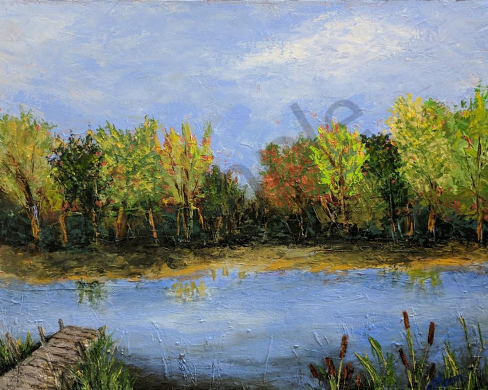 Childhood Pond Art | Carol Moon Art