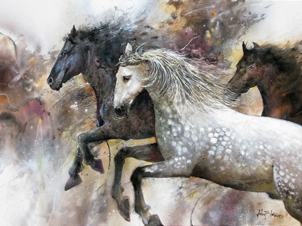Running Free  Art | John Blowers Art