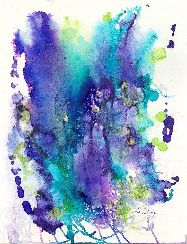 """""""Deep Carribean Water"""" fine art print by Kelly Wolske."""