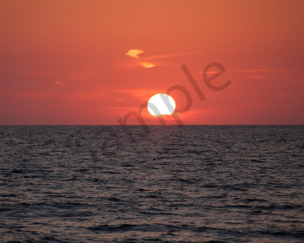 Red Sunset Photography Art   It's Your World - Enjoy!