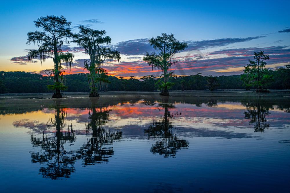 Caddo Sunrise Photography Art | John Martell Photography