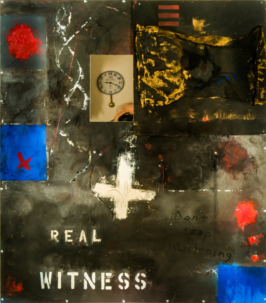 Real Witness Mm On Aluminum 54x48 Art | Adam Shaw Gallery