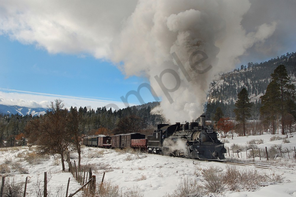 Winter Mixed Freight Photography Art   Ken Smith Gallery