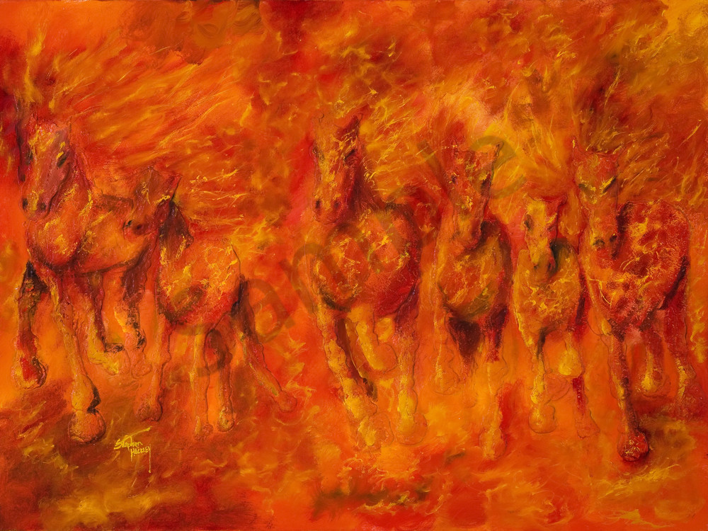 Hell Bent For Leather Art | Hackley Fine Art