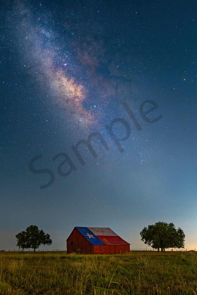Big Sky Over Texas Photography Art | John Martell Photography