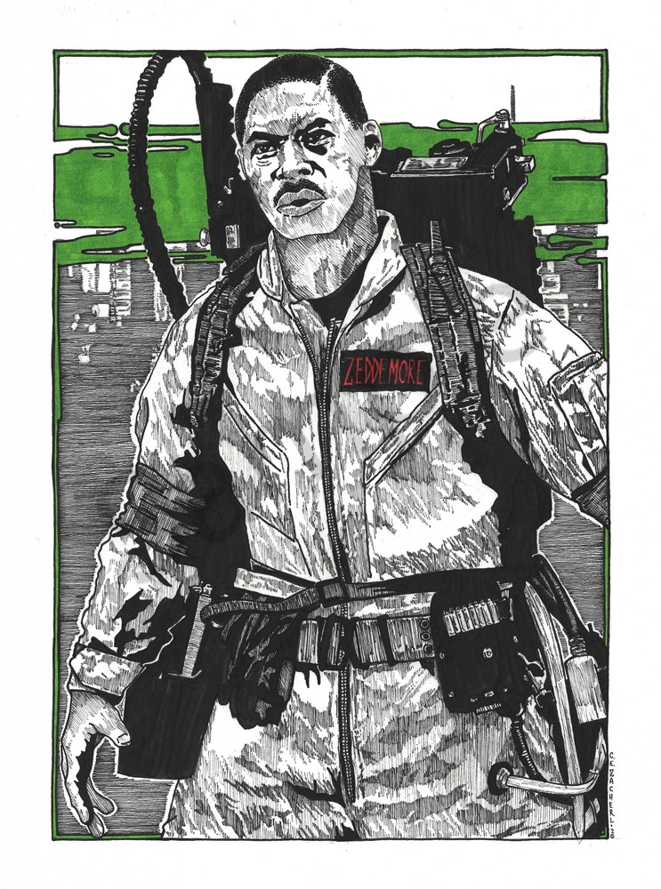 Winston Zeddemore of the Ghostbusters