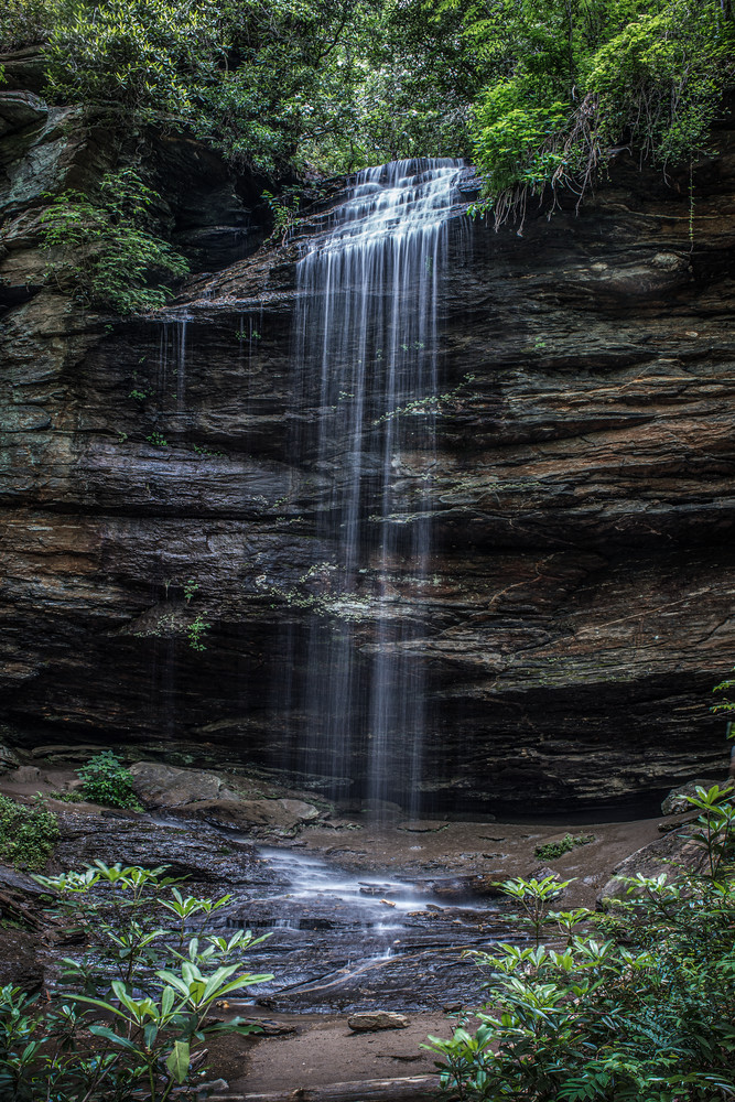 Moore Cove Falls Nc Photography Art | Kim Bova Photography